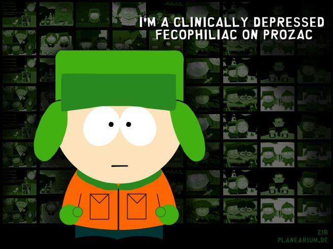 kyle on prozac